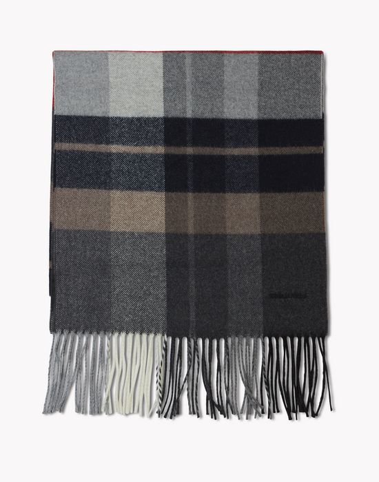 check wool flannel scarf other accessories Man Dsquared2