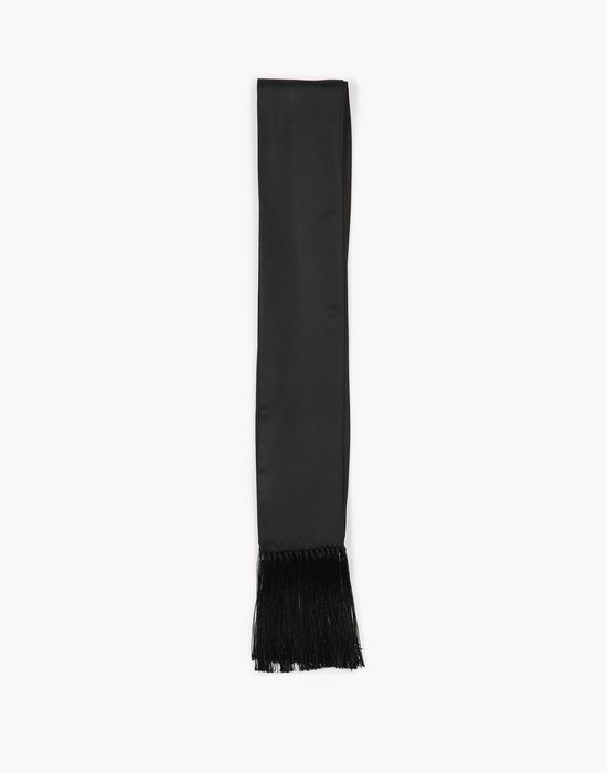 fringed silk scarf altri accessori Uomo Dsquared2