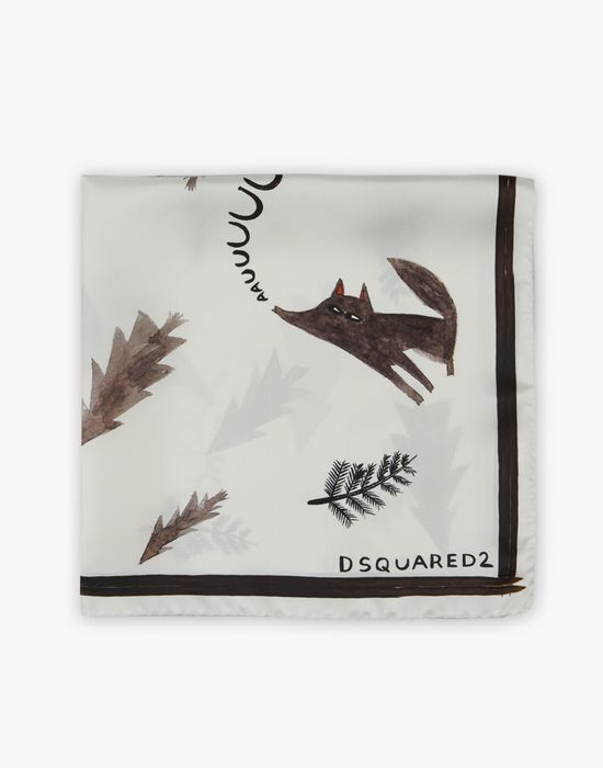 d2 wolves foulard altri accessori Uomo Dsquared2