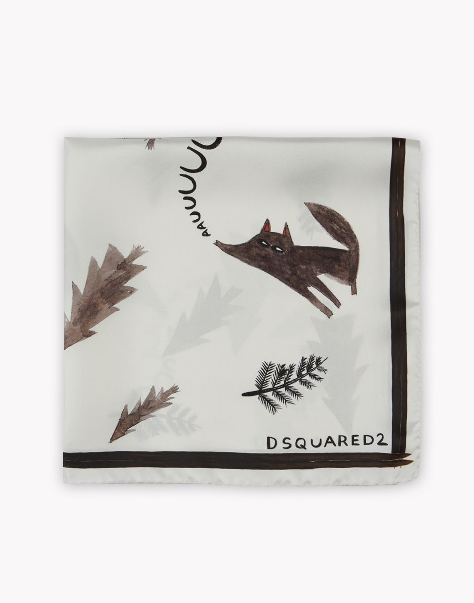 d2 wolves foulard other accessories Man Dsquared2
