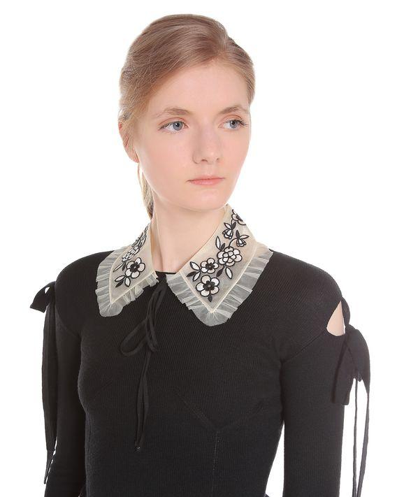 REDValentino NR3WA01D33L 0NA Collar Woman d