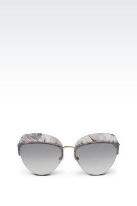Armani Occhiali da sole Donna occhiali da sole fashion inspired inserti sfumati