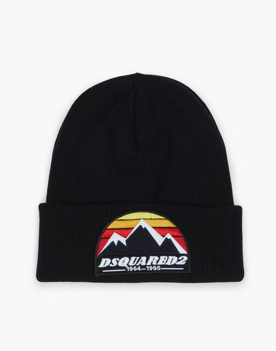 d2 mountain knit beanie complementos Hombre Dsquared2