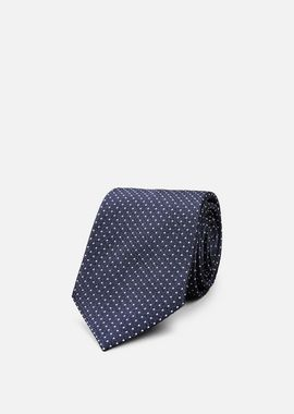 Armani Ties Men silk tie with micro dot motif