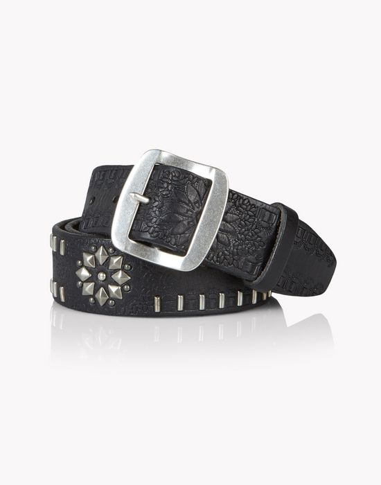 leather gipsy caravan belt belts Man Dsquared2