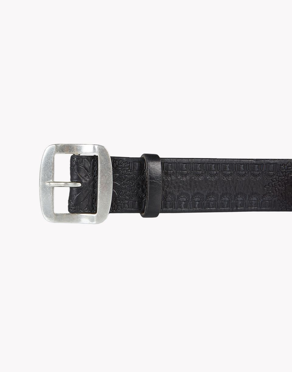 caravan leather belt belts Man Dsquared2