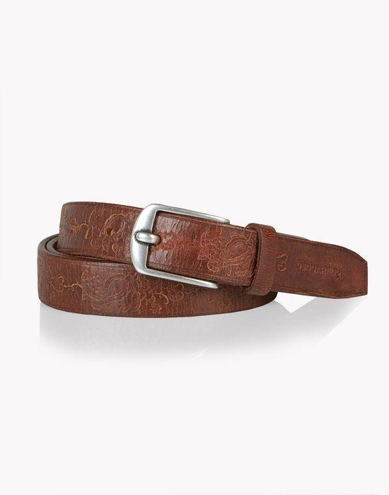 70s leather belt belts Man Dsquared2