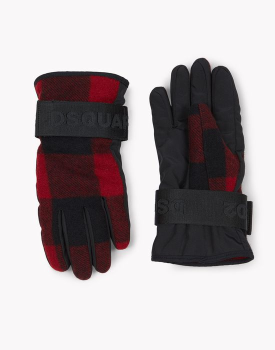check technical ski gloves weitere accessoires Herren Dsquared2