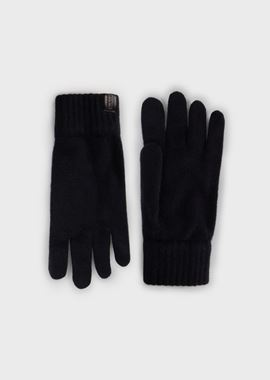 Armani Gloves Men cashmere gloves