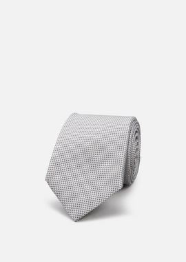 Armani Ties Men silk tie with geometric motif