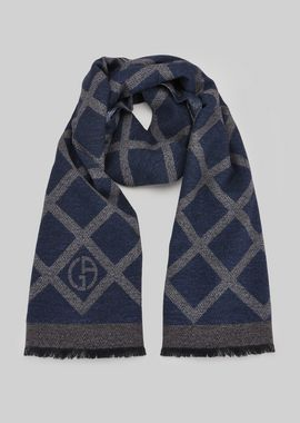 Armani Stoles Men wool and silk scarf