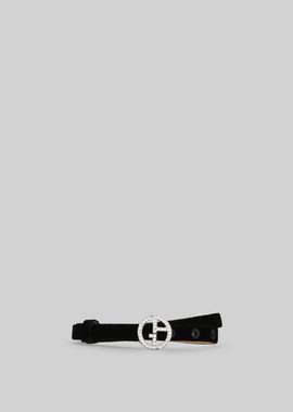 Armani Belts Women velvet belt with crystals
