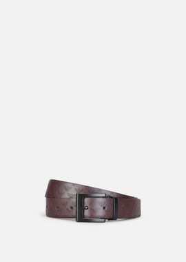 Armani Belts Men tumbled and smooth leather reversible belt