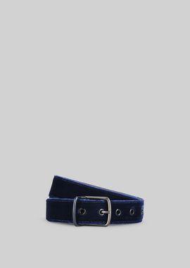 Armani Belts Men velvet belt