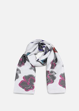Armani Stoles Women scarf with floral print