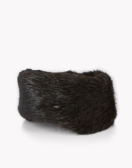 fur mountain hat other accessories Woman Dsquared2