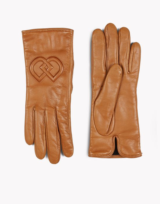 dd leather gloves other accessories Woman Dsquared2
