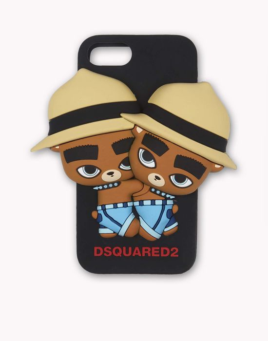 d2 teddy bears iphone 7 cover hi-tech Uomo Dsquared2