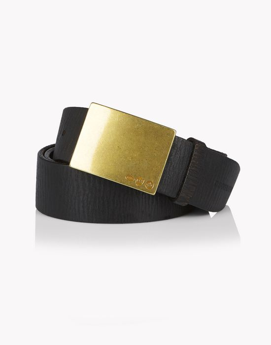 clasp leather belt gürtel  Herren Dsquared2