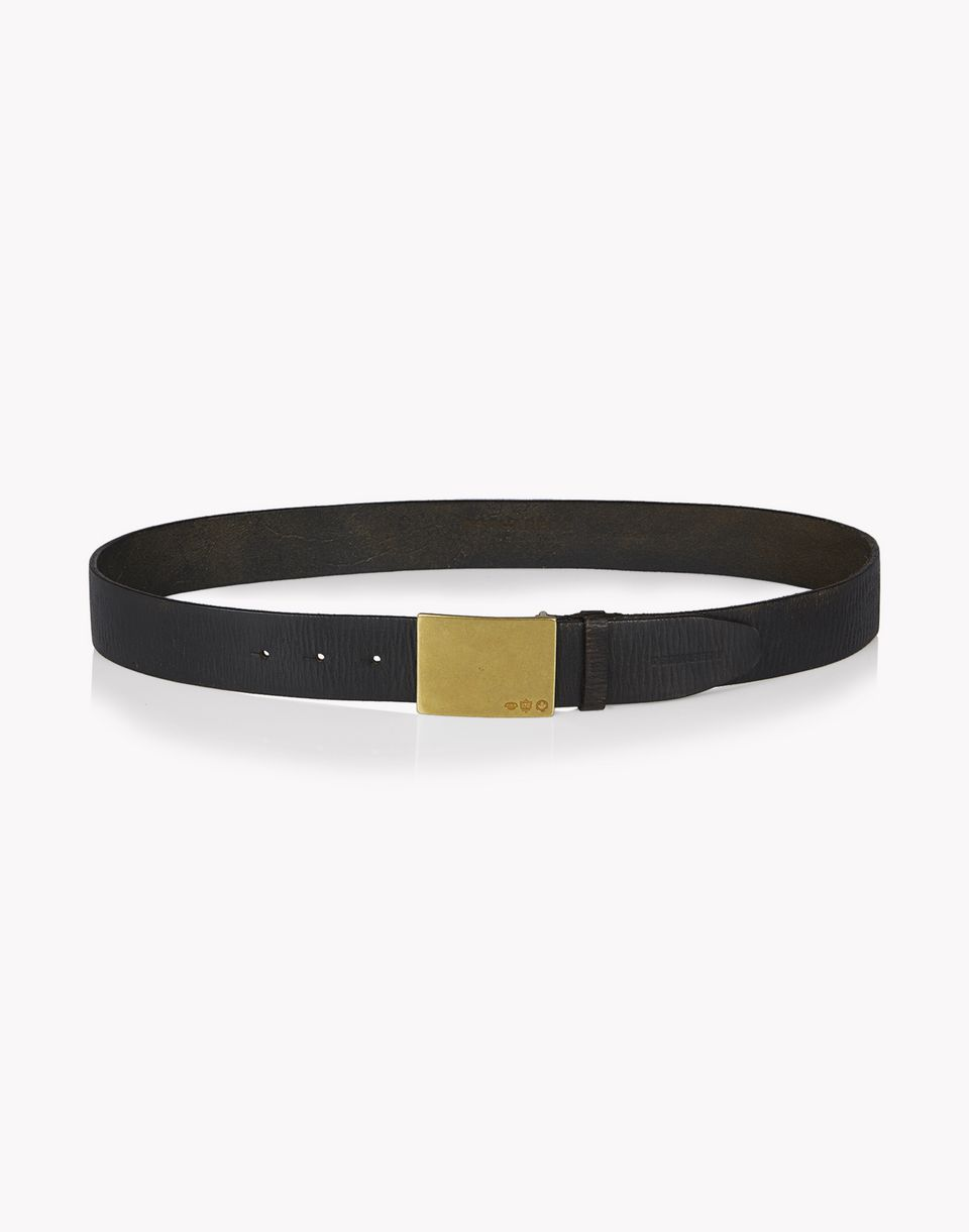 clasp leather belt belts Man Dsquared2