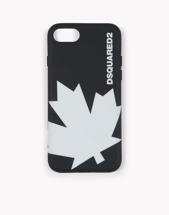 d2 maple leaf iphone 7 cover hi-tech Uomo Dsquared2