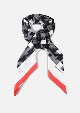 Armani Foulards Women silk scarf with geometric print
