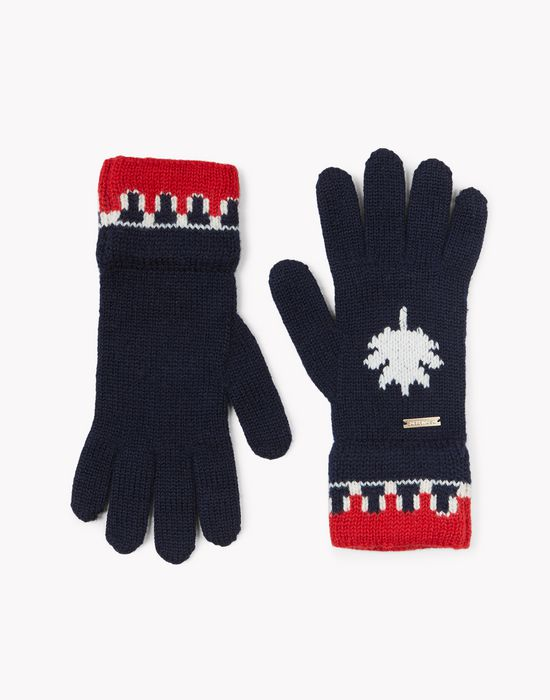 nordic deers wool knit gloves other accessories Man Dsquared2