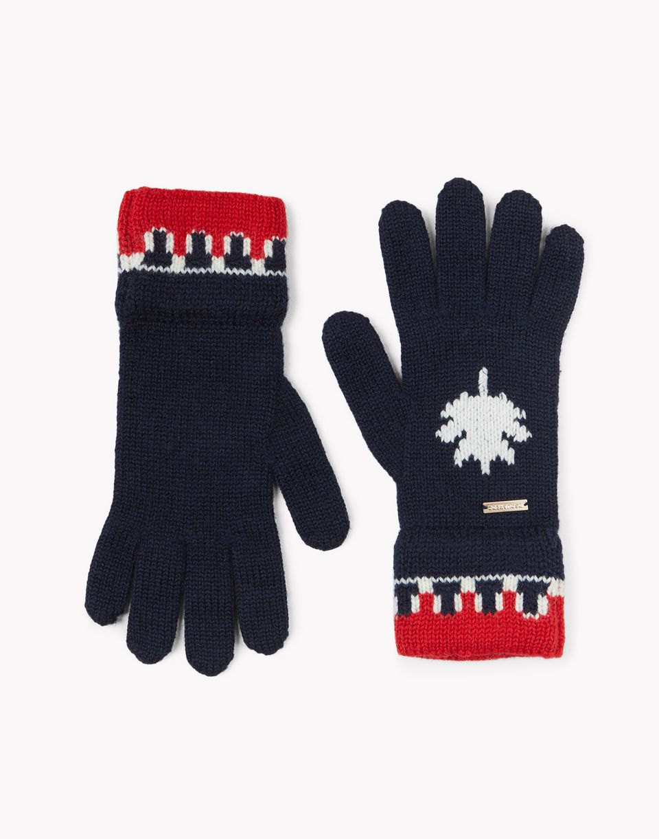 nordic deers knit wool gloves other accessories Man Dsquared2