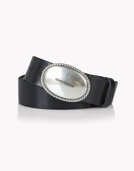 leather caravan buckle belt gürtel  Herren Dsquared2