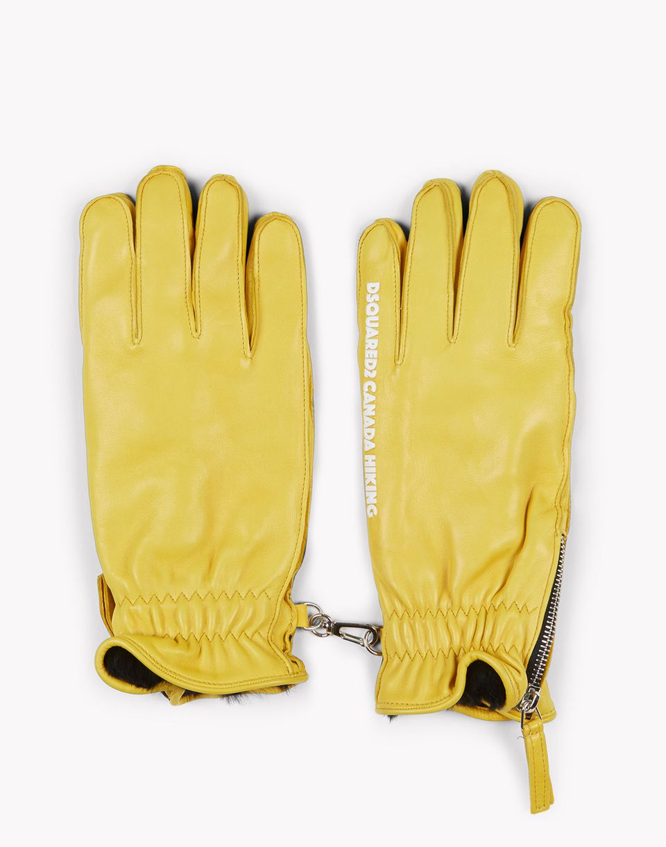 canada hiking leather gloves other accessories Man Dsquared2