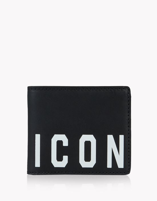 icon leather wallet accessoires Homme Dsquared2