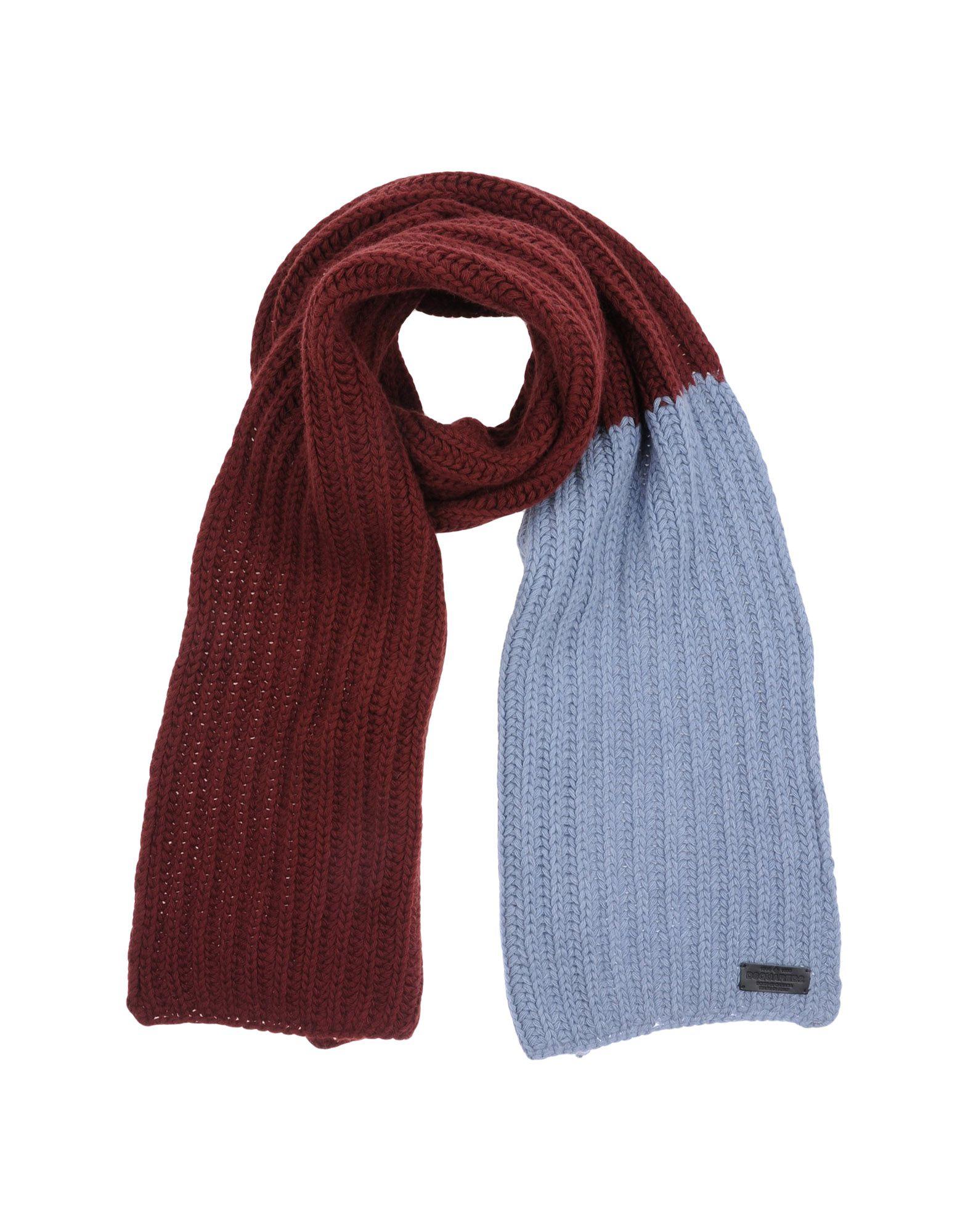 Вязание двухцветный мужской шарф