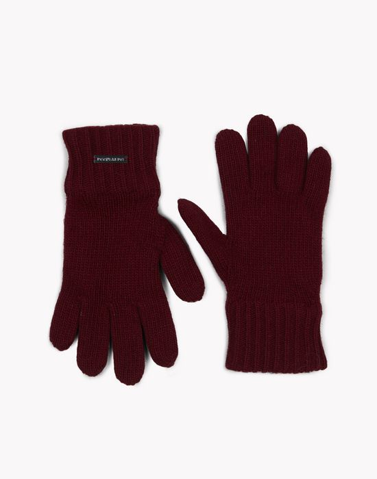 wool knit gloves complementos Hombre Dsquared2