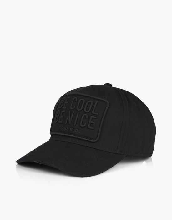 be cool be nice patch baseball cap other accessories Man Dsquared2
