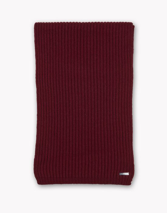 wool knit scarf other accessories Man Dsquared2