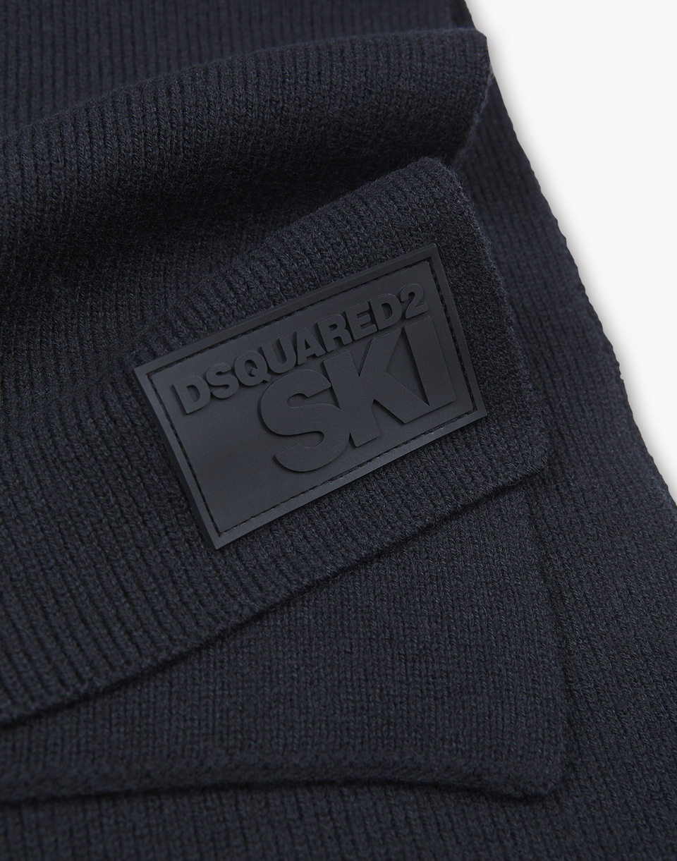 ski wool knit scarf other accessories Man Dsquared2