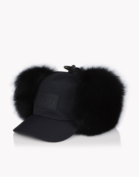 fur earmuff ski baseball cap other accessories Man Dsquared2