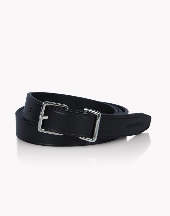 mini ubaldo leather belt belts Man Dsquared2