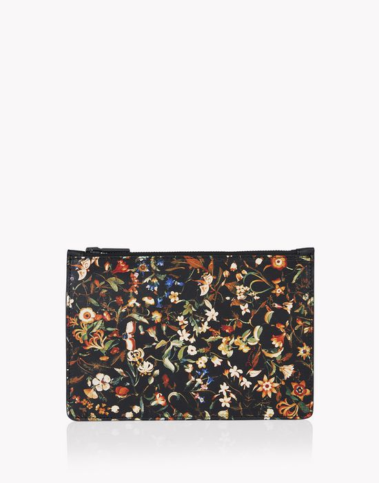 floral leather pouch other accessories Man Dsquared2