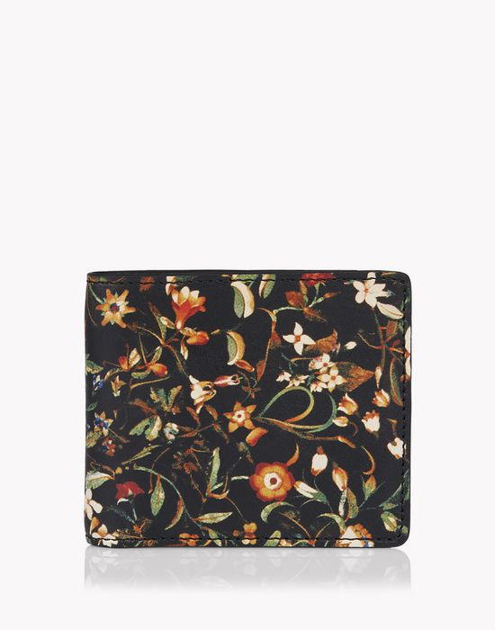 floral leather wallet other accessories Man Dsquared2