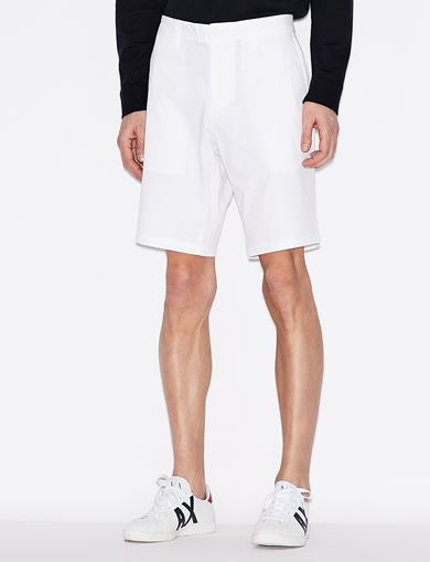 아르마니 익스체인지 반바지 Armani Exchange CLASSIC CHINO SHORTS,WHITE
