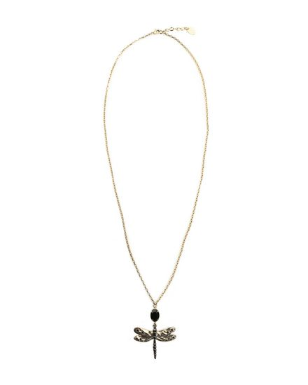 REDValentino Necklace Woman PQ2J0A01HRS ORO a