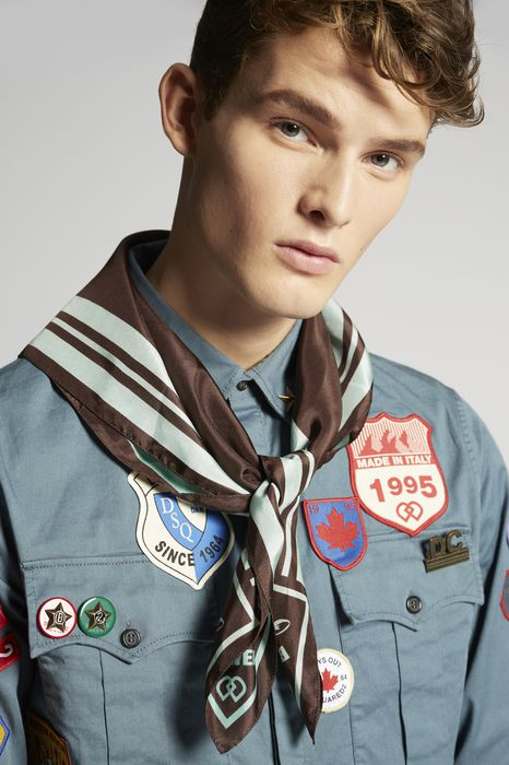 bad scout beaver foulard other accessories Man Dsquared2