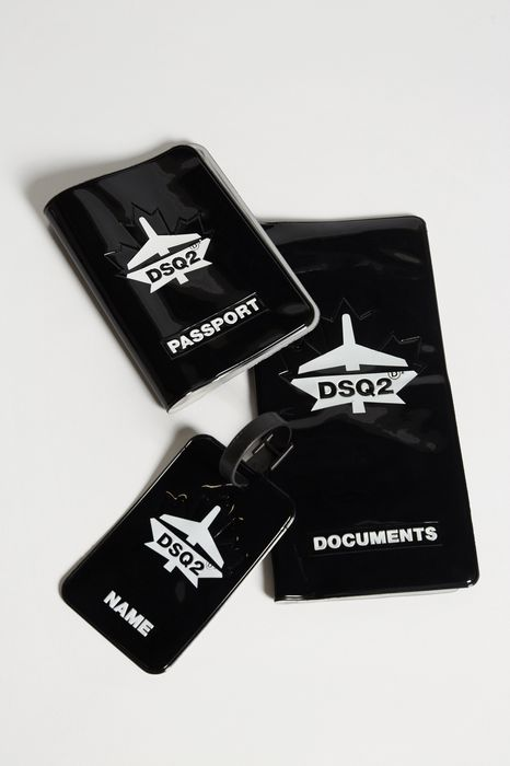 traveller luggage tag other accessories Man Dsquared2