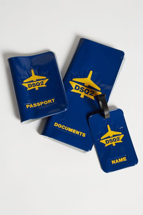 traveller passport holder accessoires Homme Dsquared2