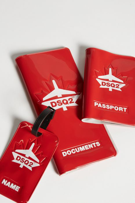 traveller documents holder accessoires Homme Dsquared2
