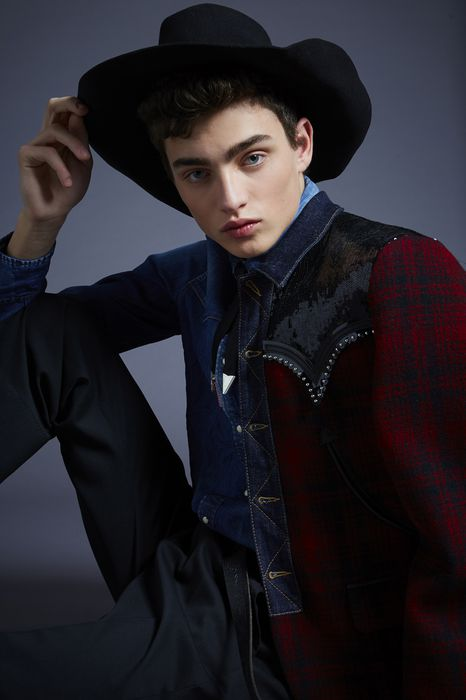 wool-felt cowboy hat  other accessories Man Dsquared2