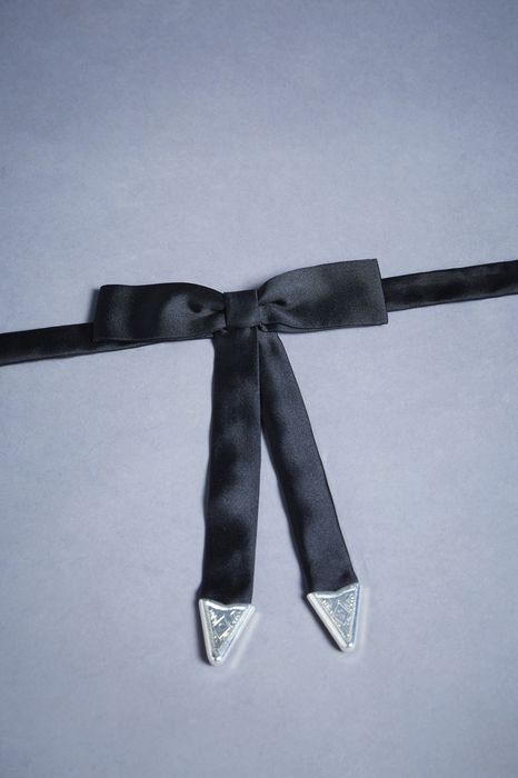 silk-satin western bow tie other accessories Man Dsquared2