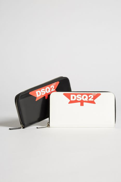 dd dsquared2 zip wallet altri accessori Donna Dsquared2