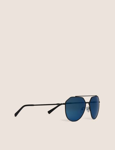 아르마니 익스체인지 Armani Exchange BLUE MIRROR WIRE AVIATOR,Blue